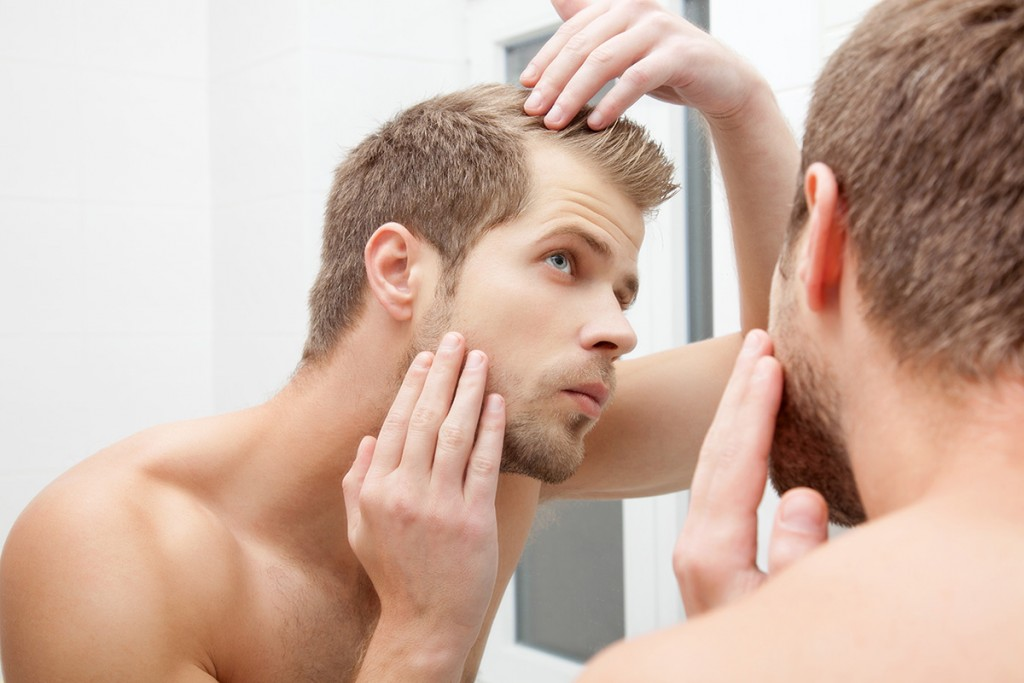 Losing hair men