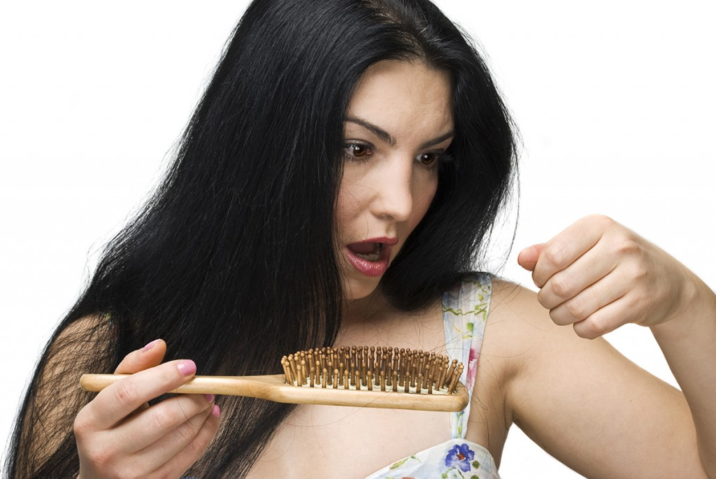 Losing hair women