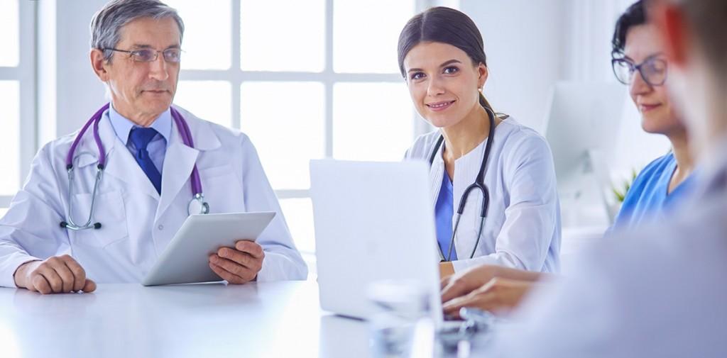 Doctors meeting at HTRGuru