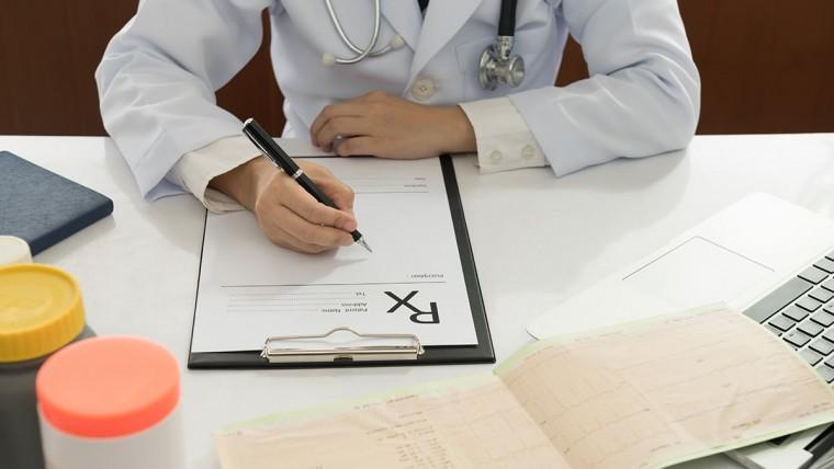 doctor prescribing testosterone
