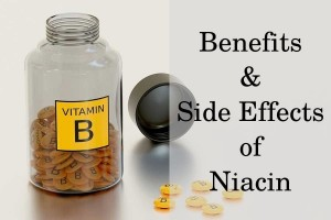 Benefits and side effects of niacin