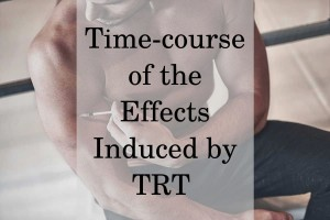 Time-course of the Effects Induced by TRT