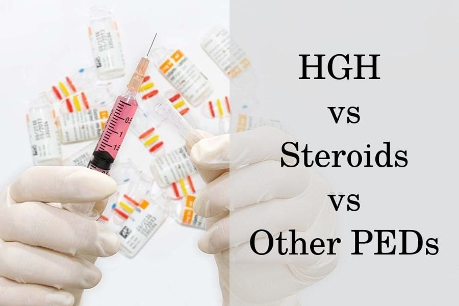 What's the Difference Between HGH, Steroids, SARMs and Prohormones?