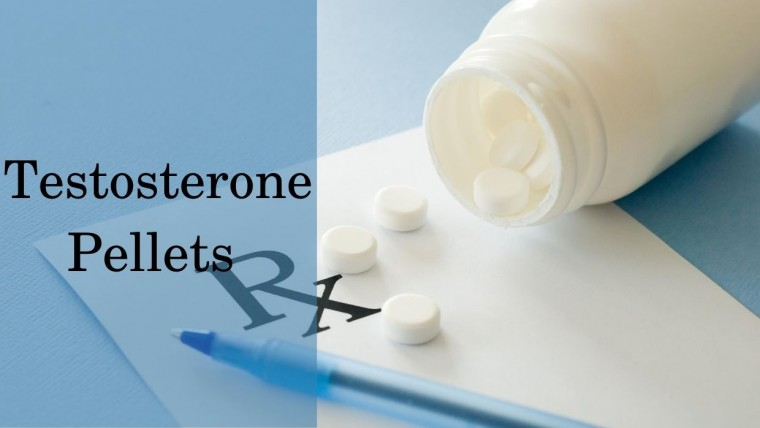 Testosterone hormone pellets