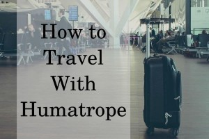 How to travel with Humatrope