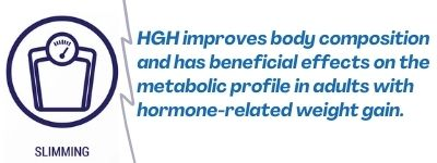 HGH improves body composition