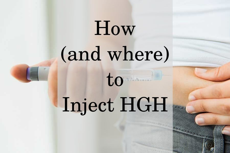 Guidance from Our Specialists on How & Where to Inject HGH